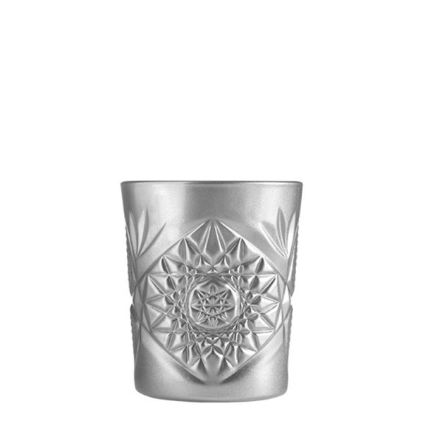 Hobstar Double Old Fashioned Glas Silber 355ml