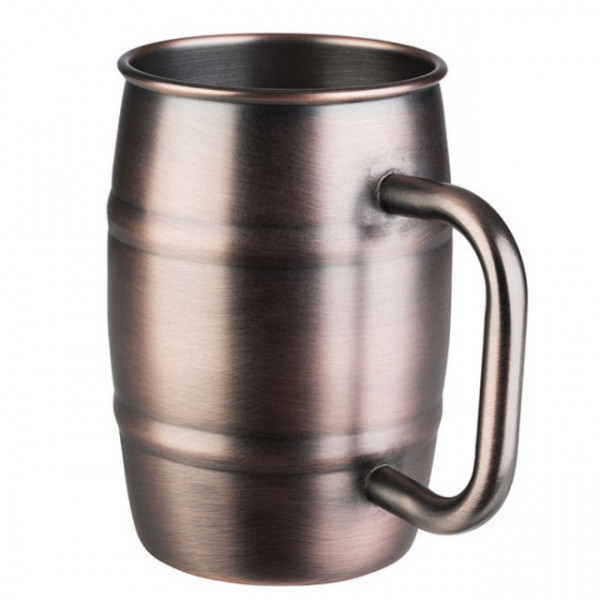 Becher BEER MUG, Antik-Kupfer-Look (0,5l)