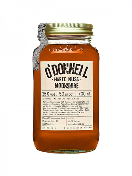 O'Donnell Moonshine Harte Nuss (0,7l)