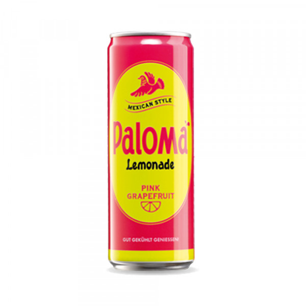 Paloma Lemonade Pink Grapefruit in Dose (0,25l)