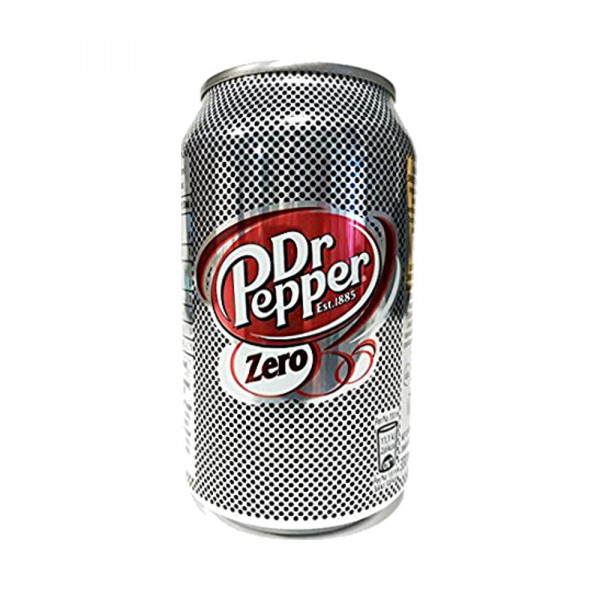 Dr Pepper Zero in Dose (0,33l)