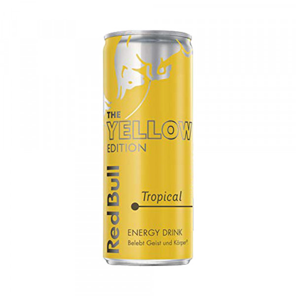 Red Bull Yellow Edition Tropical (0,25l)