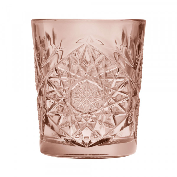 Hobstar Double Old Fashioned Glas Rose 355ml