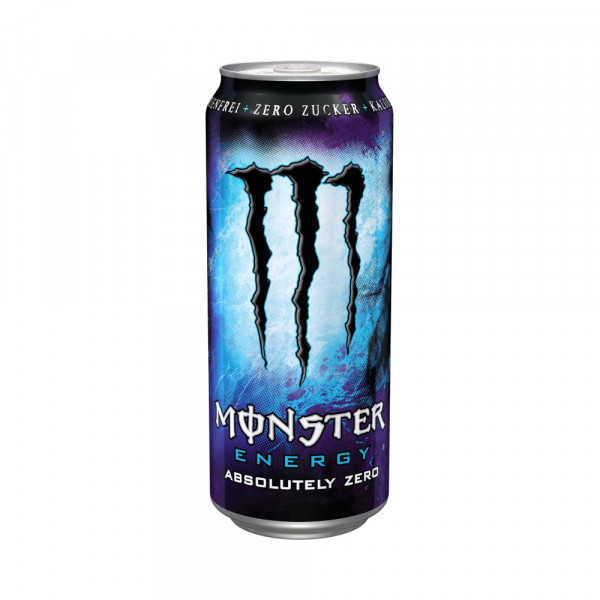 Monster Absolutely Zero Energy-Drink in Dose (0,5l)