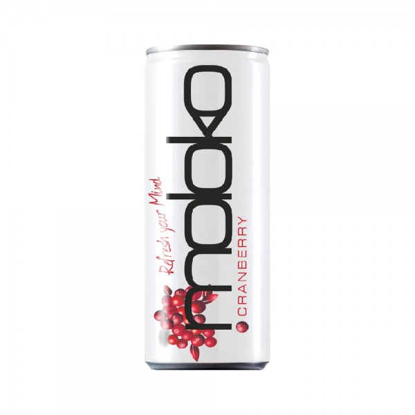 Moloko Cranberry Softdrink in Dose (0,25l)