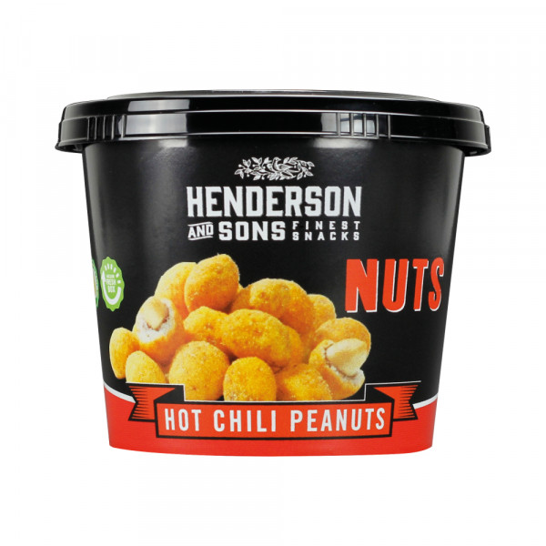 HENDERSON & SONS Nuts Hot Chili Peanuts 100g